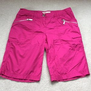 MICHAEL Michael Kors Cotton Bermuda Shorts Size 6